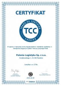 Trans TCC Certyfikat_Polonia Logistyka Sp. z o.o.